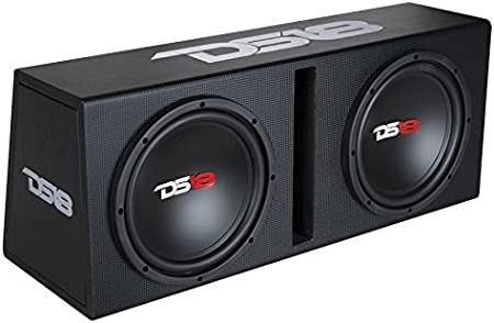 DS18 BP210 1200W Complete Bass Package with Two 10 Subs Monoblock Amplifier /& Full Installation Kit