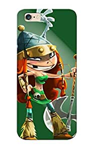 Ellent Iphone 6 Plus Case Tpu Cover Back Skin Protector Barbara Rayman Legends For Lovers' Gifts