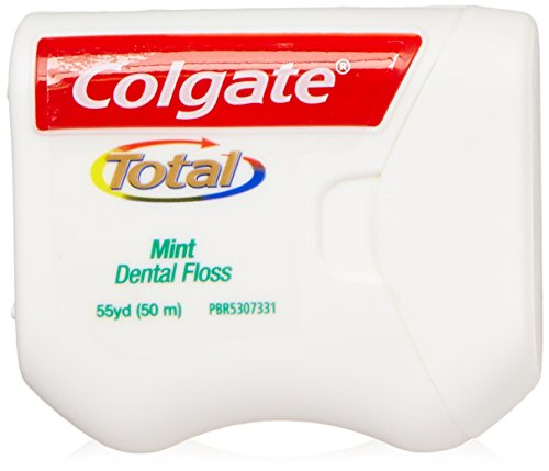 Colgate Total Dental Floss, 55 Yards