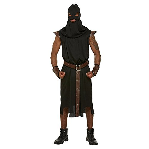 Blue Banana Executioner Fancy Dress Costume