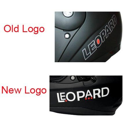 53-54cm Leopard LEO-838 Safari Modular DOUBLE SUN VISOR Flip up Front Motorbike Motorcycle Helmet Matt Black//Red XS