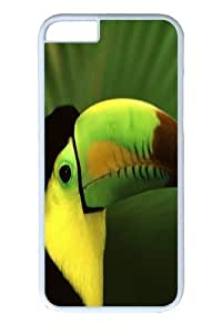 iphone 6 Case, iphone 6 Cases -Toucan Bird PC Hard Plastic Case for iphone 6 4.7 inch Whtie