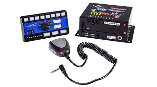 Whelen CenCom Sapphire Siren w/ 3 Section Control Head for sale  Delivered anywhere in USA