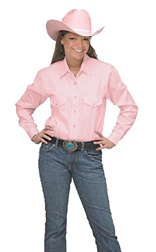 Button Shirt Sunrise Cotton Cowboy Women's Pink Outlet Down Western Oqnqx1Ewg