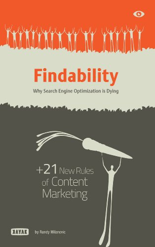 Findability: Why Search Engine Optimization is Dying: + 21 New Rules of Content Marketing