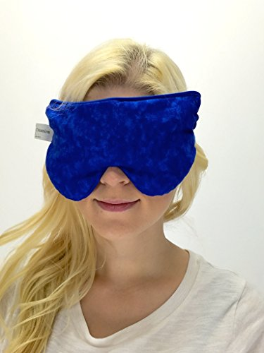 UPC 731123627439, Hot Pockets- Lavender Eye Mask - Sleep Mask - Eye Pillow - Tired Eyes - Headache/Migraine Reliefs (Blue Marble)