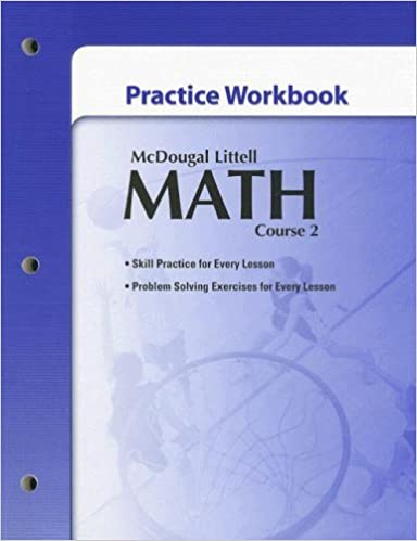 Mcdougal littell math course 2 practice workbook mcdougal littel mcdougal littell math course 2 practice workbook mcdougal littel 9780618746385 amazon books fandeluxe Images