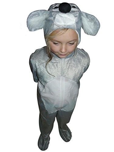 Fantasy World Koala Bear Halloween Costume f. Children/Boys/Girls, Size: 5, J42