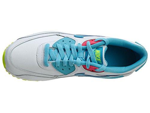 Nike - Zapatillas de deporte Air Max 90 2007 Blanco/Azul