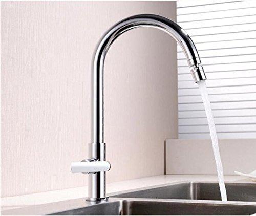 Maßej Küchenarmatur Spüle Tippen Wasserhahn Wasser Küchen Mixer Deck Montiert Chrom Poliert Mit Kaltem Leitungswasser Taps