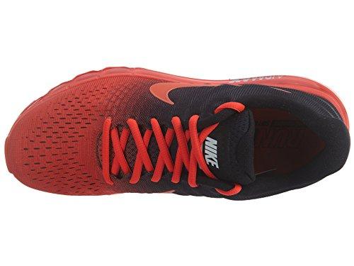 Nike Air Max 2017 Chaussure De Course Brillant Cramoisi / Total Cramoisi / Noir