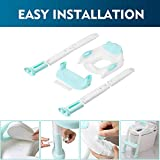 EGREE Potty Training Toilet Chair Seat with Step