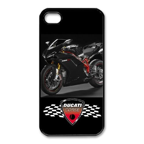 iPhone 4,4S Phone Case Black Ducati QY7016035