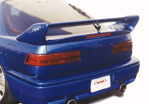 Wings West 90-93 Acura Integra 2 Door Adj. Commando Style Spoiler W/LED Light wing (Wings West Type)