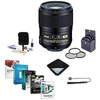Nikon 60mm f/2.8G AF-S Micro NIKKOR AF ED Lens - USA. Warranty - Bundle w/62mm Filters & Pro Software