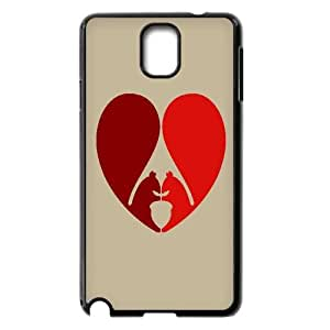 UNI-BEE PHONE CASE For Samsung Galaxy NOTE3 Case Cover -Animal Squirrel-CASE-STYLE 1