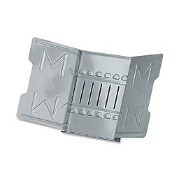 Master Catalog Rack, Organizes and Displays Catalogs/Magazines/Loose-Leaf Materials, Gray (MAT912G)