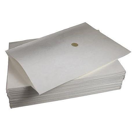 Henny Penny - Sobres de papel de filtro de aceite para máquina de pollo (50/100 unidades) 100 Filter papers: Amazon.es: Hogar