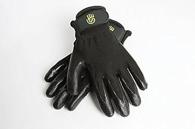 HandsOn Bathing/Grooming/Shedding Gloves, De-Shedding Gloves for Horses/Dogs/Cats/Livestock/Small Pets