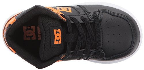 Dc Ungdom Rebound Skate Sko Orange / Svart