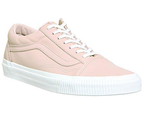 Unisex Skool Zapatillas de Blanc Blanc Sepia Adulto Old Rose U Vans aOIqxU6a