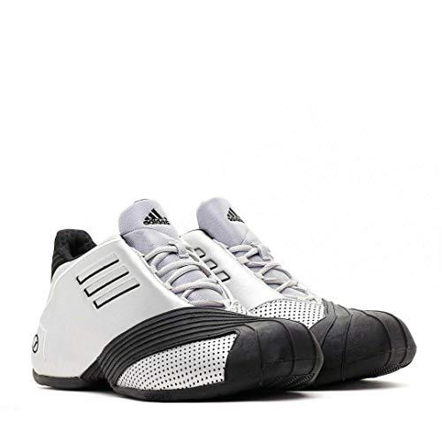 adidas Basketball Men's TMAC 1 Tracy McGrady Shoes G59092,Size 15 Metallic Silver/Black ()