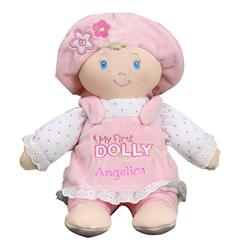 GiftsForYouNow Personalized Pink My First Dolly, 12