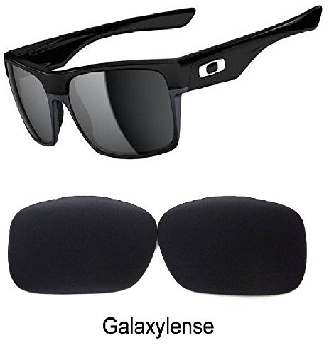 Galaxy Replacement Lenses For Oakley Twoface Black Polarized 100% - Face Replacement Two Oakley Lenses