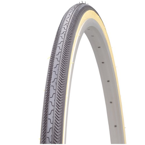 Kenda K36, Tire, 27''X1-1/8, Wire, Clincher, 27TPI, Black (Tire Kevlar Belted)