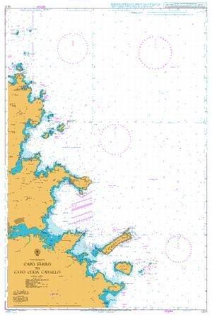 BA Chart 1211: Italy – Sardegna, Capo Ferro to Capo Coda Cavallo by UKHO