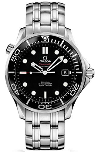 Omega Automatic Wrist Watch (Omega Seamaster 41 mm Black Dial Mens Watch 212.30.41.20.01.003)