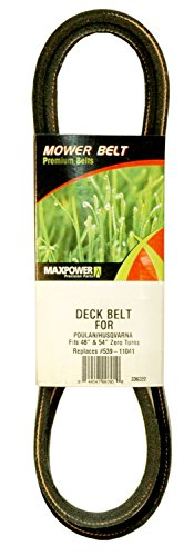 MaxPower 336322 Deck Belt for AYP, Poulan, Husqvarna, and Craftsman Replaces OEM #539-110411