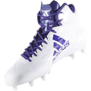 free shipping clearance marketable cheap price adidas Adizero 5Star 6.0 Mid Cleat Men's Football White-collegiate Purple YxJUxVuL