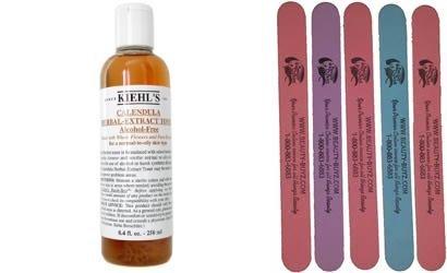 Calendula Herbal Extract Alcohol-free Toner Plus Bonus 5 Emery Boards