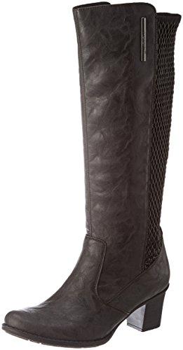 Rieker Damen Z7695-45 Kurzschaft Stiefel Grau (Graphit/black)