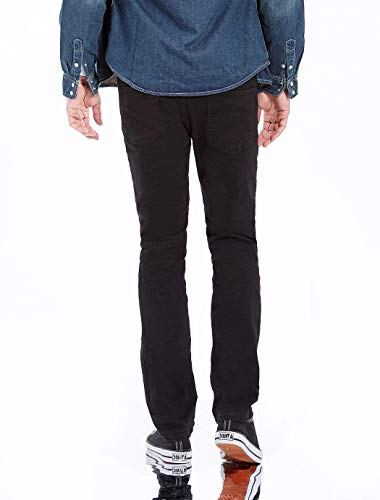 Stretch Jeans Mezclilla Vintage Size Casual Color Vaqueros Ripped Fit De Destroyed Negro Trousers Mezclilla Fashion Trousers Trousers 38×32L Pantalones De Slim Ropa TvqwpA