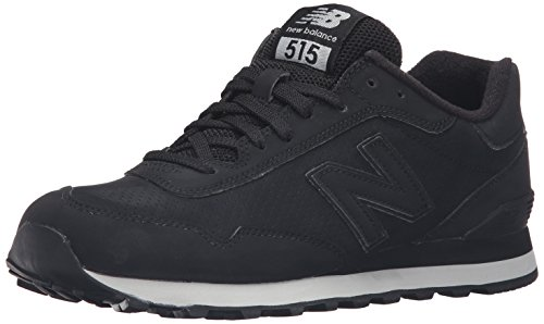 New Balance Men's 515 Modern Classics Fashion Sneaker, Black, 10.5 D US