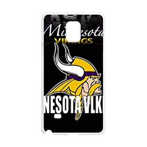 Minnesota Viklngs Fahionable And Popular High Quality Back Case Cover For Samsung Galaxy Note4