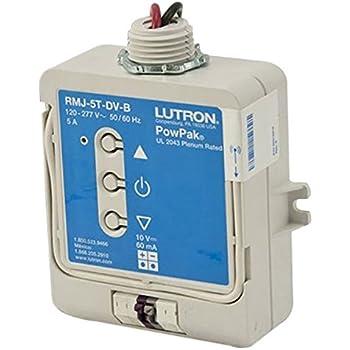 Lutron RMJ-5T-DV-B 120-277V Pow Pak Wireless Dimming Module Ballast