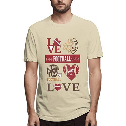 热爱美å¼çƒï¼Œçƒçˆ±è¿è¿åŠ¨, Men's Full Printing Stylish Natural Jersey Alliance Football,Football Todaycollege Football L