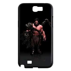 AXE Samsung Galaxy N2 7100 Cell Phone Case Black VBS_3633025