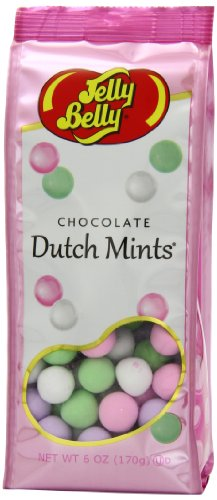 Chocolate Dutch Candy - Jelly Belly Gift Bag, Chocolate Dutch Mints