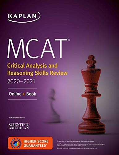 MCAT Critical Analysis and Reasoning Skills Review for sale  Delivered anywhere in Canada
