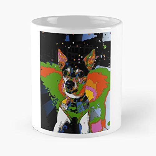 Rat Terrier Gift Coffee Mug Tea Cup White-11 Oz.