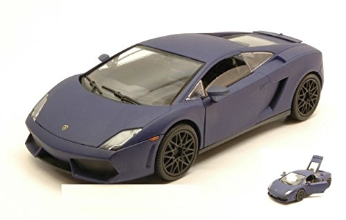 MBORGHINI GALLARDO LP560-4 2009 SATIN SERIES MATT BLUE 1:24 (2009 Lamborghini Gallardo Lp560 4)