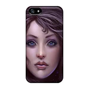 Charming YaYa Case Cover Skin For Iphone 5/5s (?¡é??a€|outside Your Eyes?¡é??a€?
