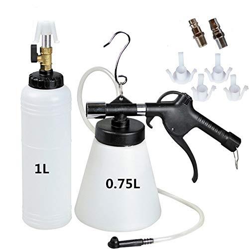 QUNNIE Dispositivo ad Aria compressa per Spurgo Freni spurgo Freni ad Aria compressa Kit,con Bottiglia di Ricarica