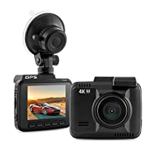 Car DVR Novatek 96660 Chip GPS Logger WIFI Dash Cam Ultra HD 4K 2880 x 2160P Car Video Recorder Camera