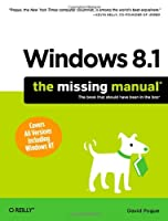 Windows 8.1: The Missing Manual Front Cover