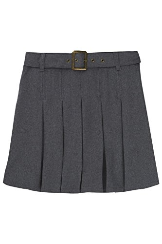French Toast Girls Size' Pleated Scooter with Square Buck...